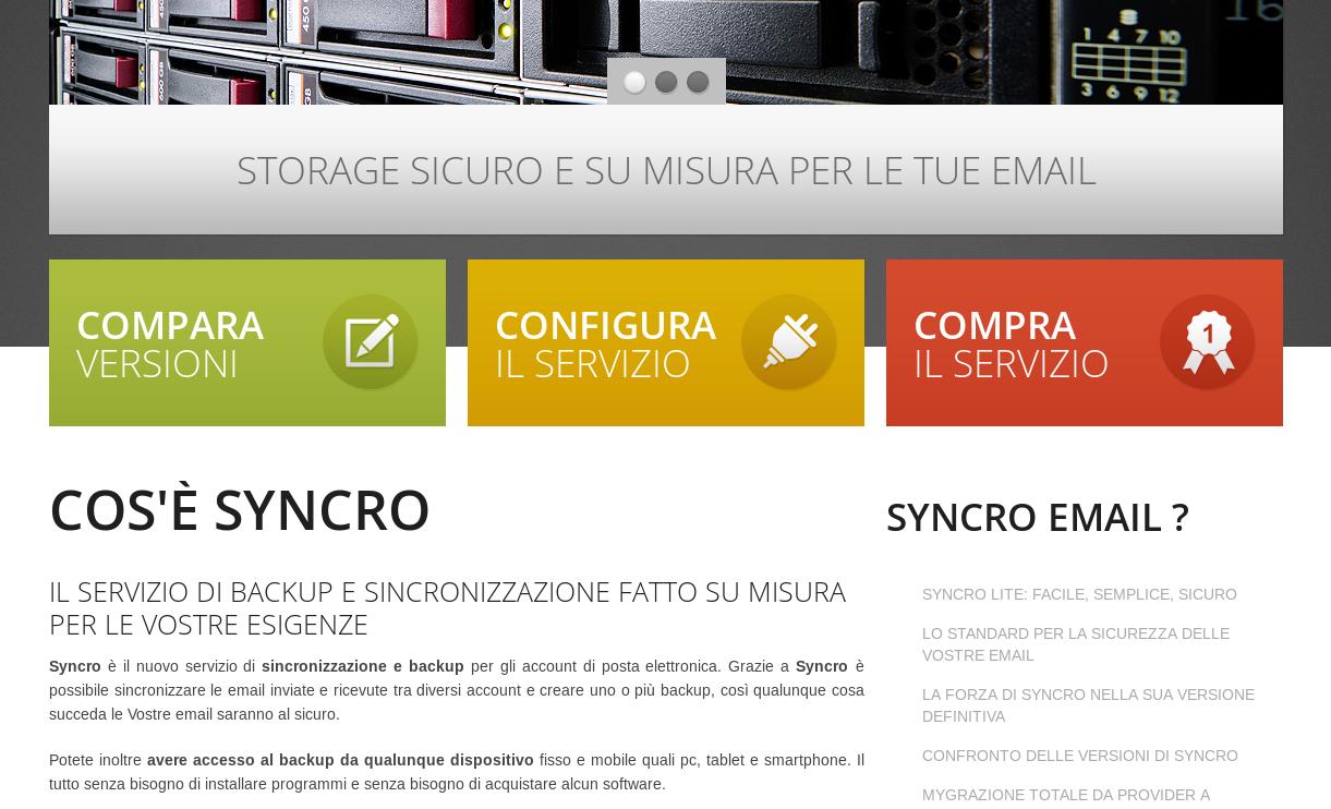 Syncro.email – il backup della tua posta elettronica